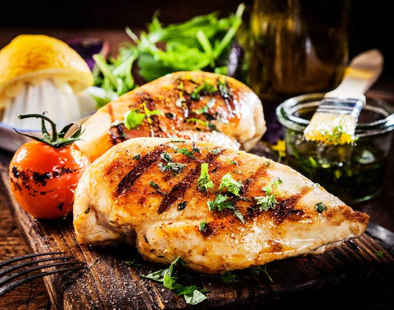 Chicken Breast with our special seasoning.